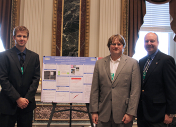 Matthew McBride, and Drs. Jean-Claude Bradley and Andrew Lang at the White House
