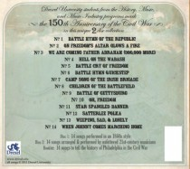 Civil War CD Back