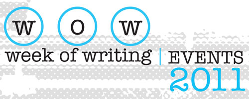 2011 Week of Writing Banner