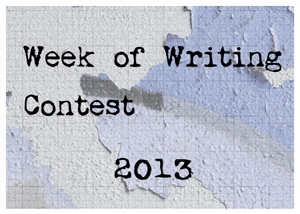 Week of Writing Contest 2013