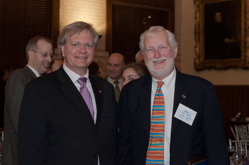 Dr. Brian Schmidt and Dr. Lee Schroeder