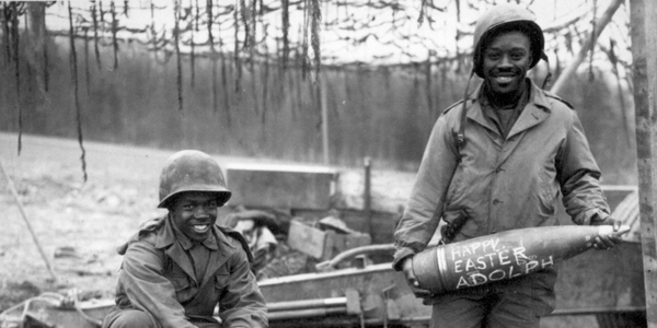African American soldiers in WWII