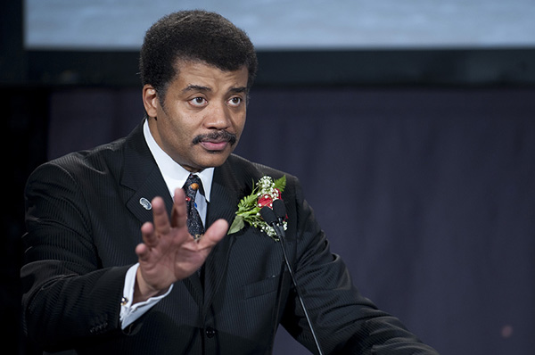Neil deGrasse Tyson is host of the new Cosmos