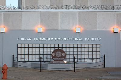 Curran-Fromhold Correctional Facility Exterior. Copyright Drexel University