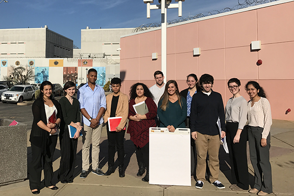Drexel Students in the Community-Based Learning Course Prison, Society and You