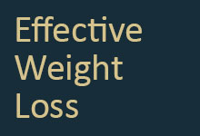 Effective Weight Loss book