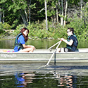Students canoeing at Drexel's Environmental Science Leadeship Academy Summer 2016