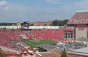 Byrd Stadium at University of Maryland