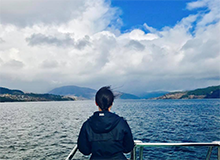 Drexel Criminology and Justice Studies Student Emma Nolan in Norway
