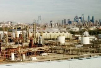 Oil Refinery Philadelphia