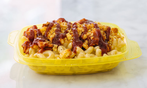 Mac Mart BBQ in a bowl