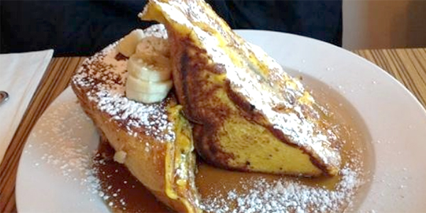 The Stuffed French Toast at Sabrina's