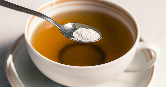 cup with teaspoon of sugar by Photosiber/Thinkstock Images