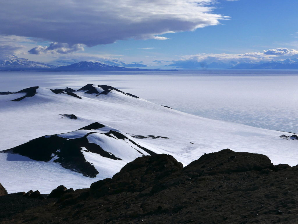 View from Castle Rock across McMurdo Sound