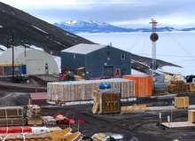 Cargo Yard McMurdo Station