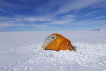 Shake Down Tent Ross Ice Shelf