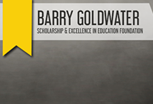 Barry Goldwater Scholarship Logo Copyright Barry Goldwater Foundation