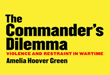 The Commander's Dilemma book cover by Drexel Professor Amelia Hoover Green