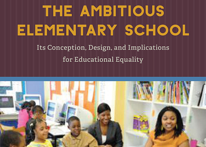 Book Cover: The Ambitious Elementary School