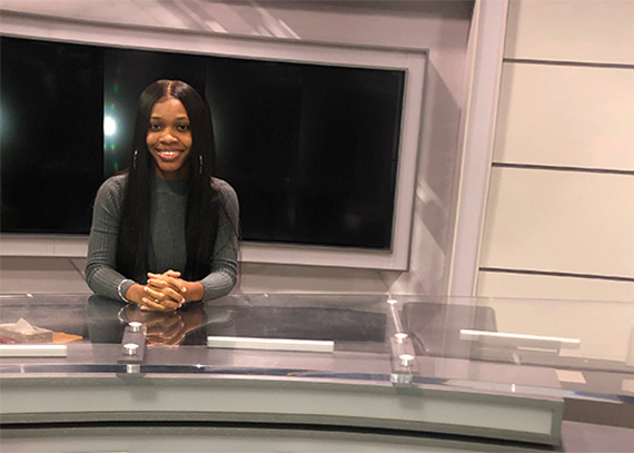 Shana Joseph, Drexel Communication Student and Intern at Philadelphia Fox 29