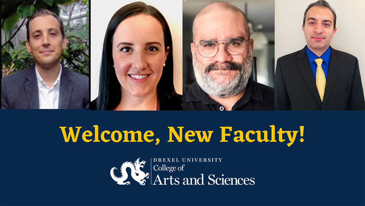 2020 New College of Arts and Sciences Faculty