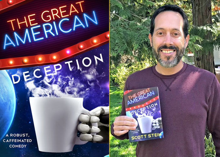 """The Great American Deception"" author Scott Stein, professor in the Drexel University College of Arts and Sciences"