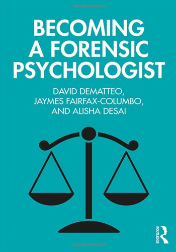 Book Cover - Becoming a Forensic Psychologist