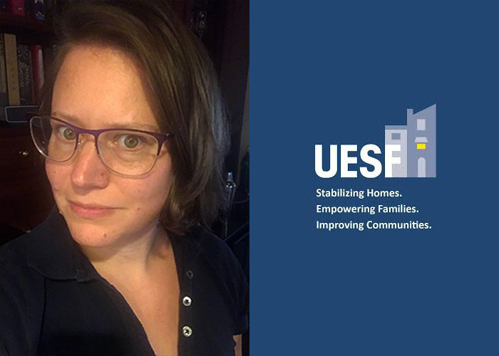 Elizabeth Kimball, PhD, designed a Community-Based Learning course to partner with UESF.