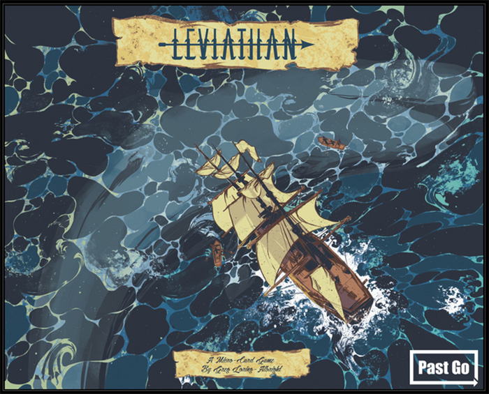 Leviathan Micro Card Game by Greg Loring-Albright - Artwork by Andrew Thompson
