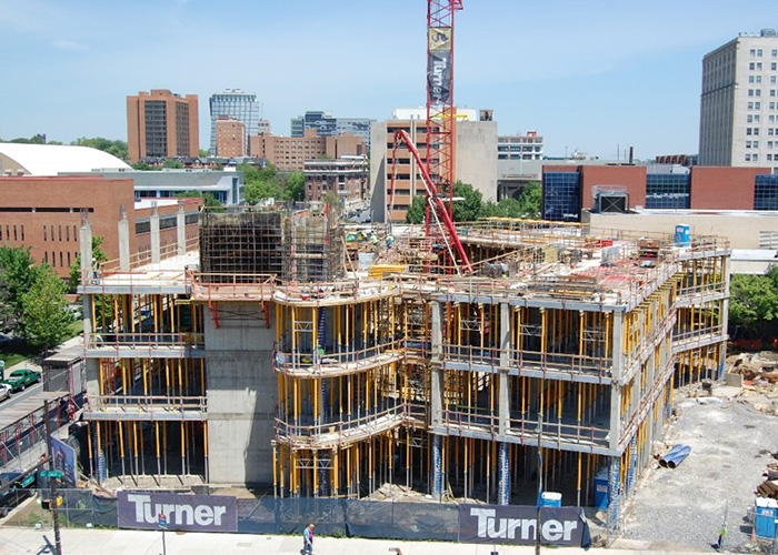 PISB Construction in May 2010