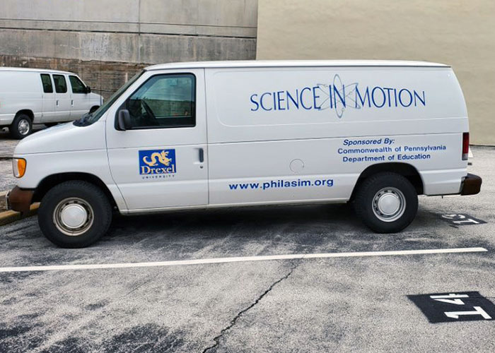 Drexel University Science In Motion Van