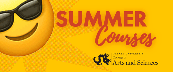 Drexel College of Arts & Sciences Summer Courses 2020