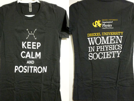 Keep Calm and Positron WiPS t-shirt