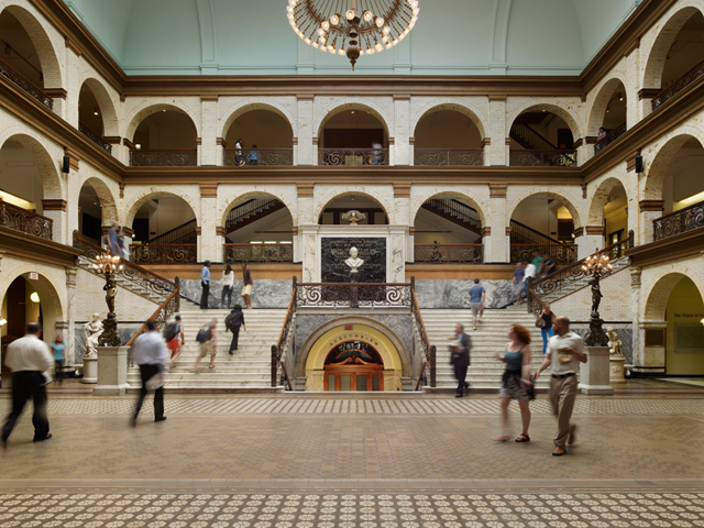 Great Court in the Main Building.
