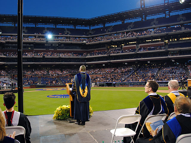 Drexel commencement 2017 at Citizen's Bank Park