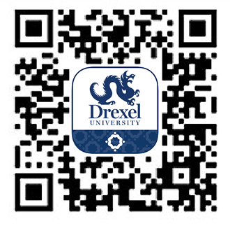 QR Code for the Drexel Health Tracker App