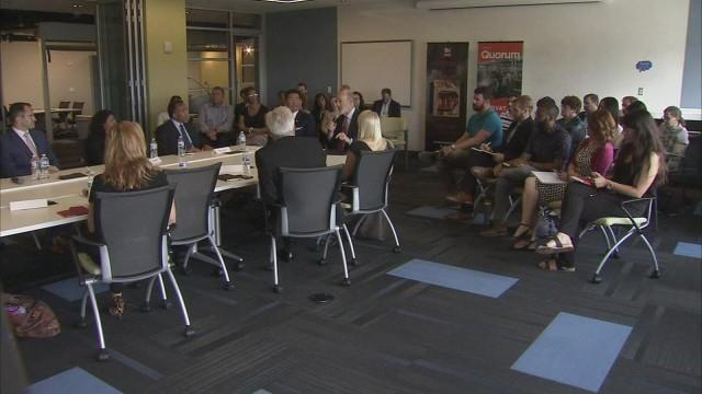 roundtable discussion with governor tom wolf