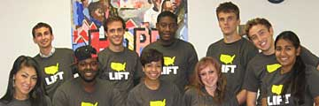 Students from the LIFT Program