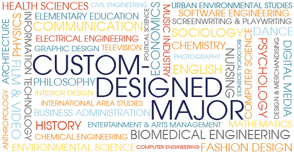 Custom-Designed Major integrates multiple disciplines