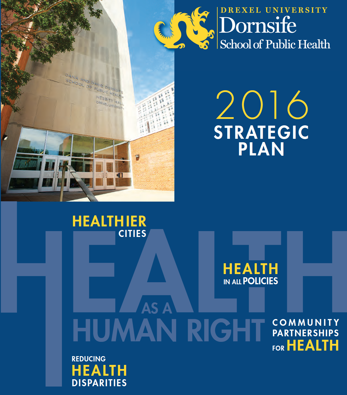 2016 DSPH Strategic Plan Cover