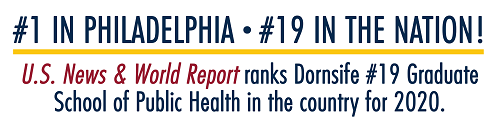 US News and World Report ranks Dornsife #19 Graduate School of Public Health in the country for 2020