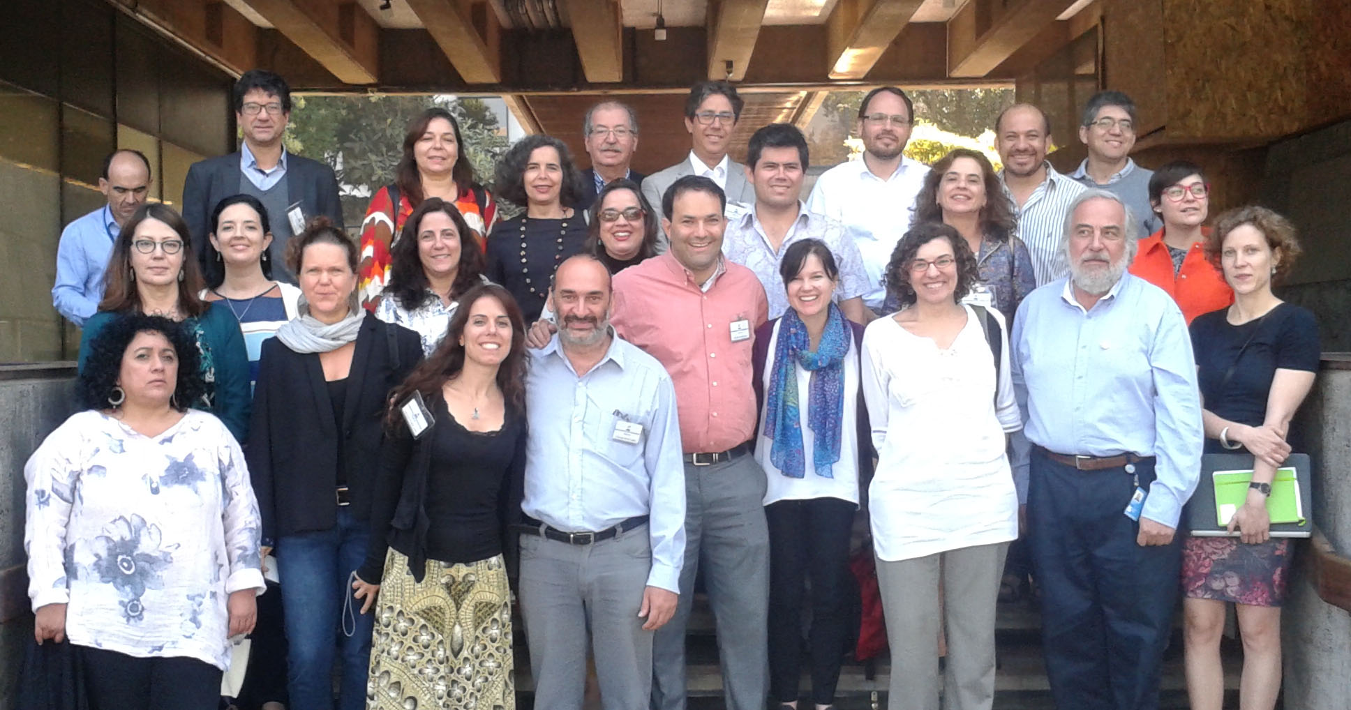 Network for Urban Health in Latin America and the Caribbean participants