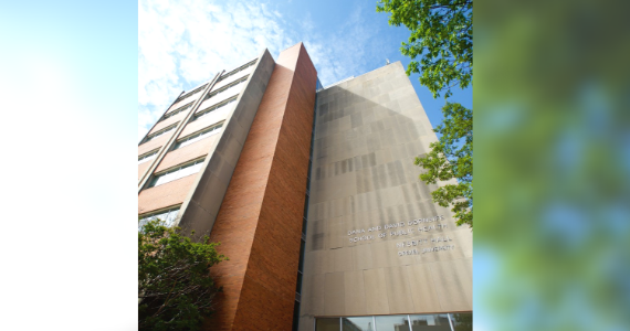 Exterior of the Drexel Dornsife School of Public Health