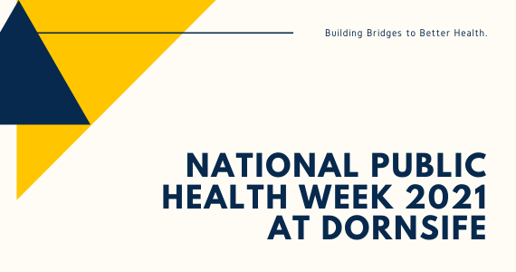 National Public Health Week 2021 at Dornsife