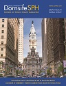Cover of Dornsife SPH Spring-Summer 2019 issue featuring Philadelphia's city hall