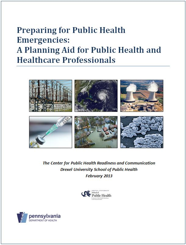 Planning Aid for Public Health and Healthcare Professionals