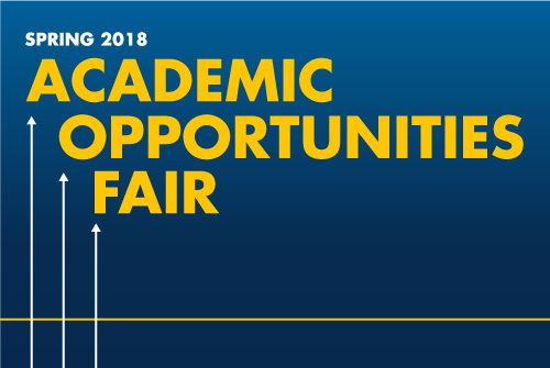 Spring 2018 Academic Opportunities Fair