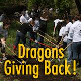 Dragons giving back