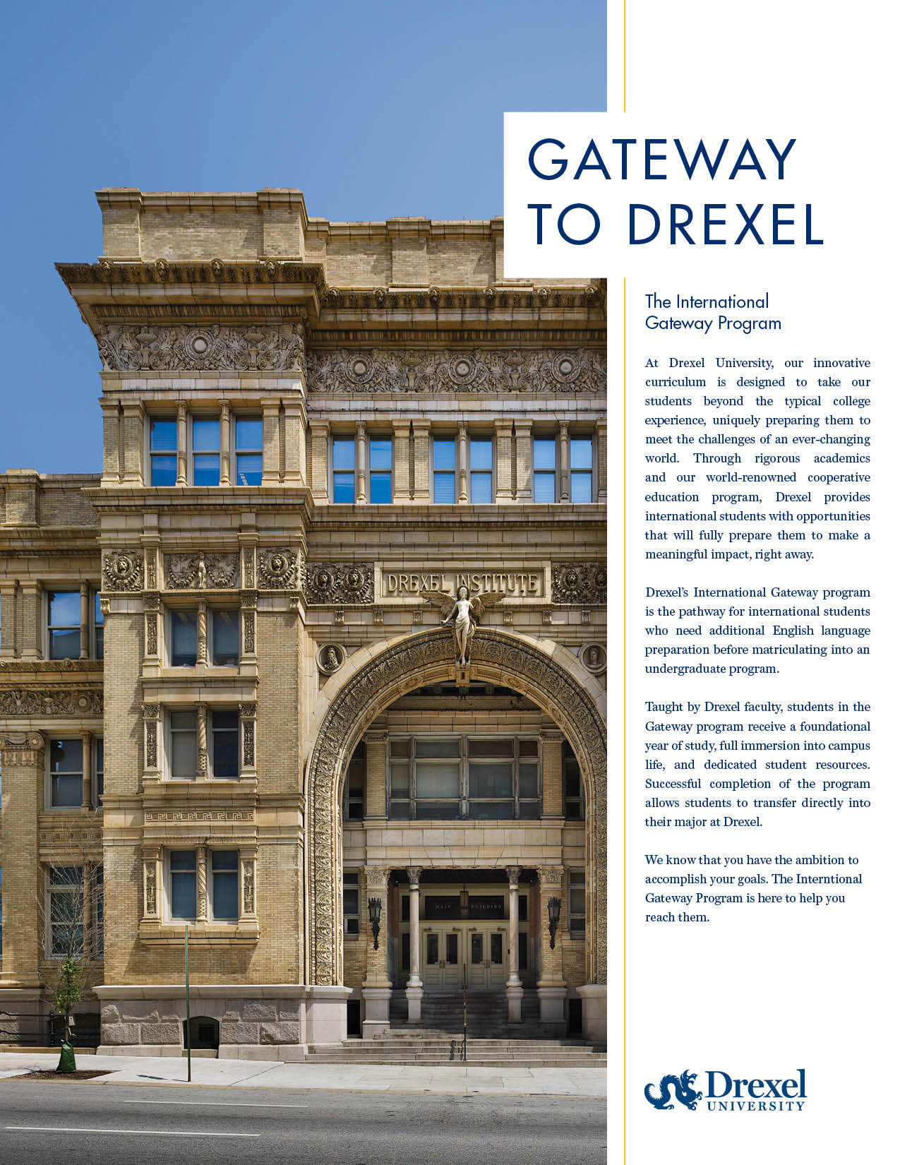 International Gateway Program Brochure
