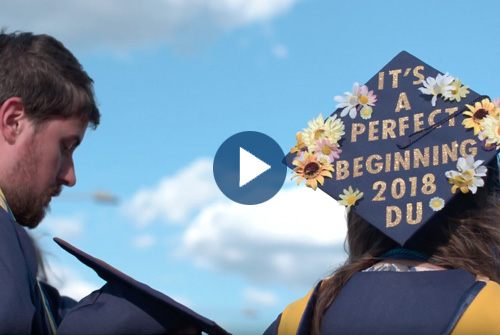 Play the Commencement video